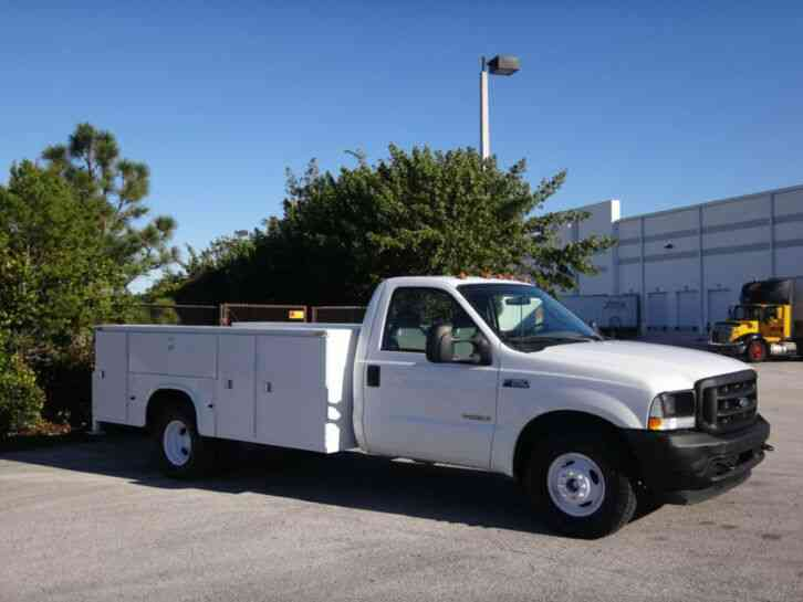 Ford F350 Super Duty Service Utility Truck (2003)