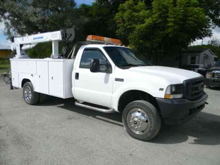 Ford F550 Super Duty (2003)