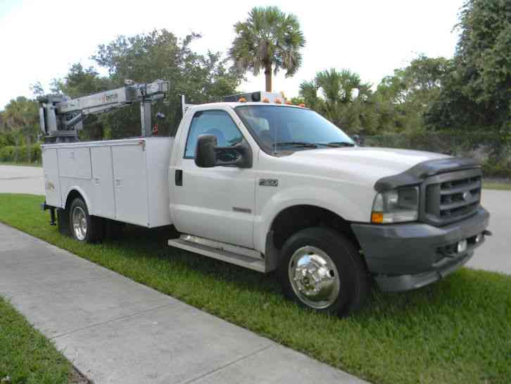 ford f550 2003 utility service trucks. Black Bedroom Furniture Sets. Home Design Ideas