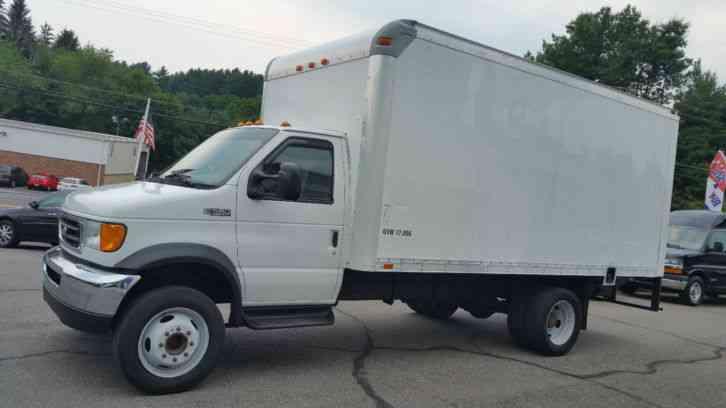 Ice Cream Trucks For Sale >> Ford Super Duty E-550 (2003) : Van / Box Trucks