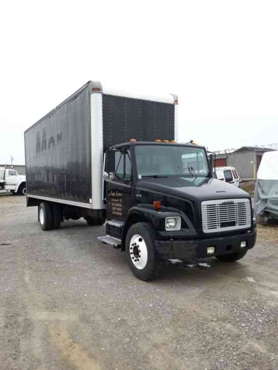 2003 Freighliner Fl70 Box 15383 on gmc c7500 engine