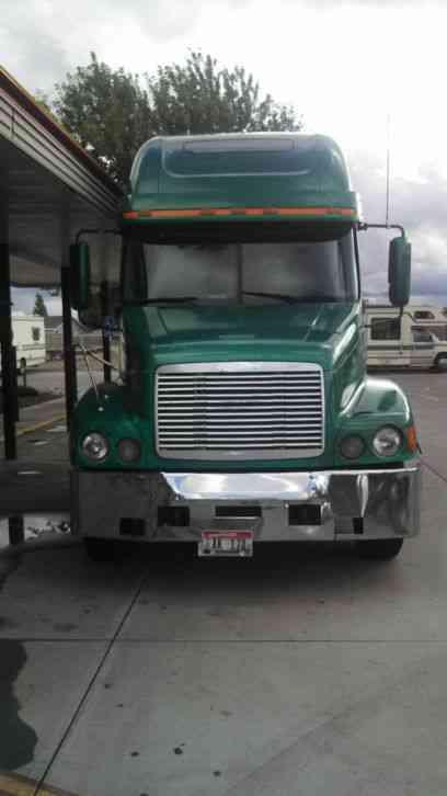 Kenworth W 900a Extended Hood 1980 Sleeper Semi Trucks
