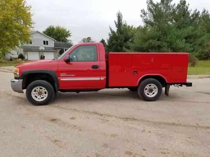 GMC 2500HD 4X4 (2003) : Utility / Service Trucks