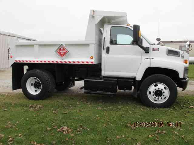 Dump Truck Control Switch : Gmc c  utility service trucks