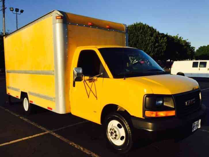 Gmc Savana G3500 Box Truck 2003 Van Box Trucks