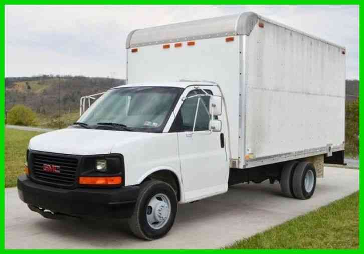 Gmc Savana 3500 >> Gmc Savana 3500 14ft Box Truck 2003 Van Box Trucks