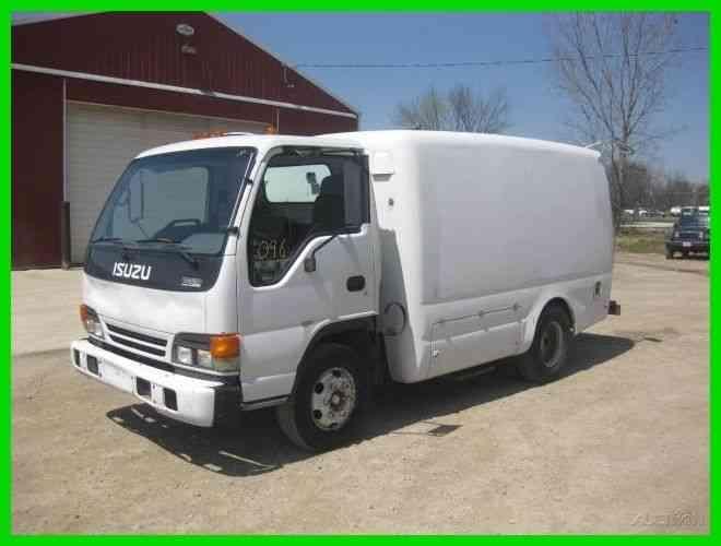 Isuzu Npr 12 Foot Tru Green Sprayer Truck 2003 Utility