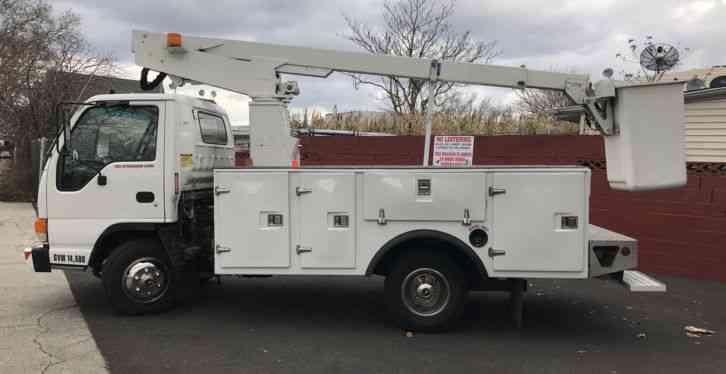 Used Fire Trucks For Sale >> Isuzu NPR (2003) : Bucket / Boom Trucks