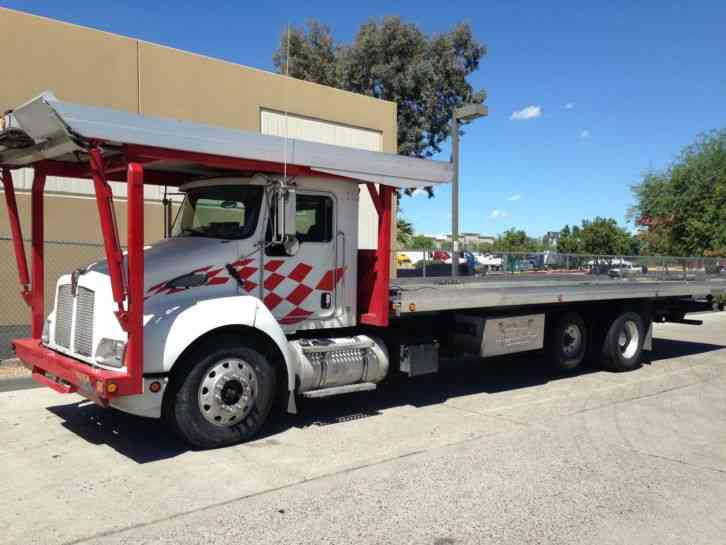 Kenworth Four Car Carrier 2003 Flatbeds Amp Rollbacks