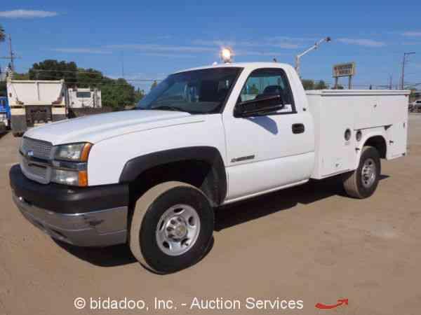 New Chevrolet Silverado 2500hd Sacramento >> Chevrolet 2500HD (2004) : Utility / Service Trucks