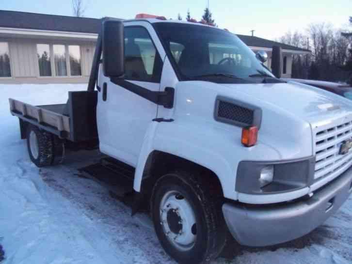 Chevrolet C Kodiak Ft Flat Bed Duramax Diesel