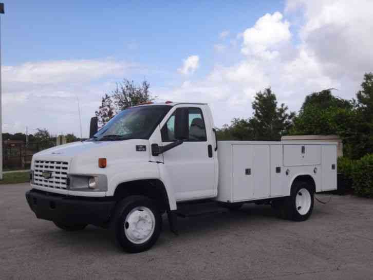 Chevrolet C4500 Service Utility Truck (2004)