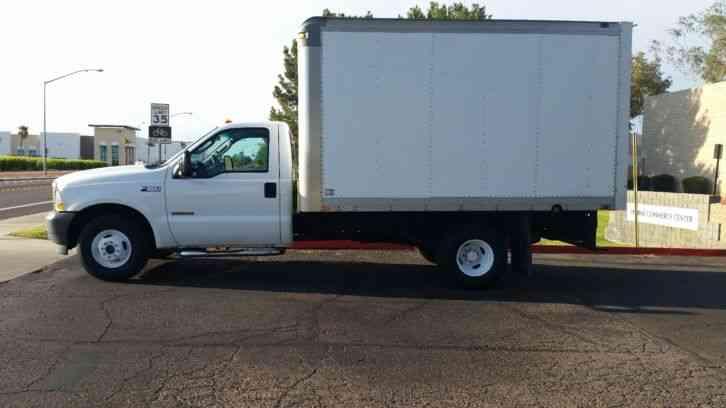 ford f350 2004 van box trucks. Black Bedroom Furniture Sets. Home Design Ideas