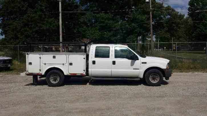 Outstanding Ford F 350 2004 Utility Service Trucks Pabps2019 Chair Design Images Pabps2019Com