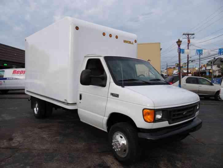 ford   super duty delivery van  foot box truck  van box trucks