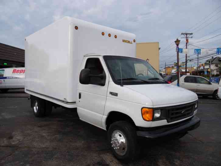 Ford Passenger Van For Sale >> Ford E-350 SUPER DUTY DELIVERY VAN 12 FOOT BOX TRUCK (2004 ...