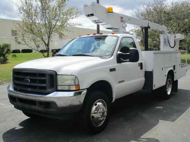 Ford F-450 UTILITY SERVICE BUCKET TRUCK (2004)