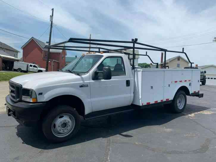 Ford F450 SERVICE UTILITY BED TRUCK (2004)
