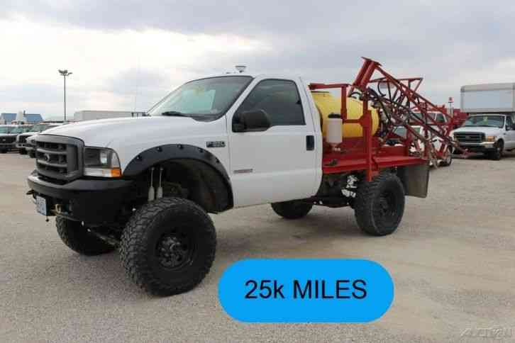 4X4 Van For Sale >> Ford F350 (2004) : Commercial Pickups