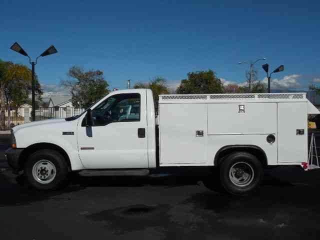 ford f350 (2004) : utility / service trucks