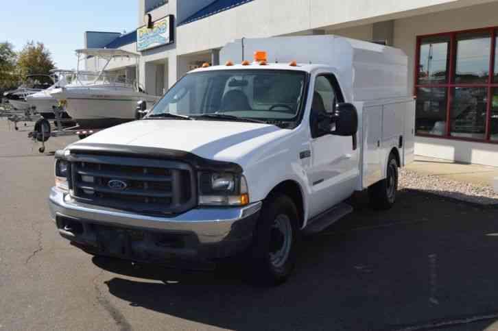 ford super duty f 350 utility body 2004 utility service trucks. Black Bedroom Furniture Sets. Home Design Ideas