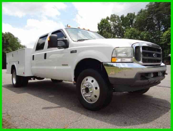 Ford F Lariat Utility Truck