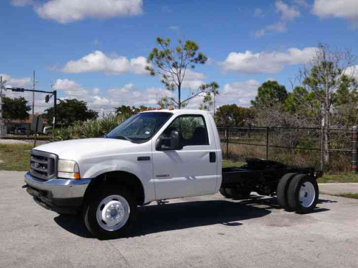 Ford F550 Super Duty 5th Wheel Cab Chassis (2004)