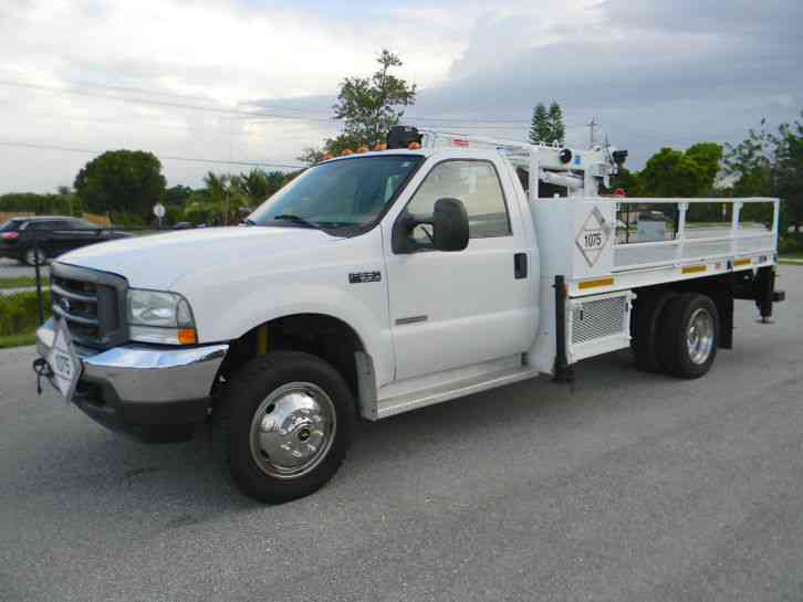 F550 Towing Capacity >> Ford F550 Super Duty (2004) : Utility / Service Trucks