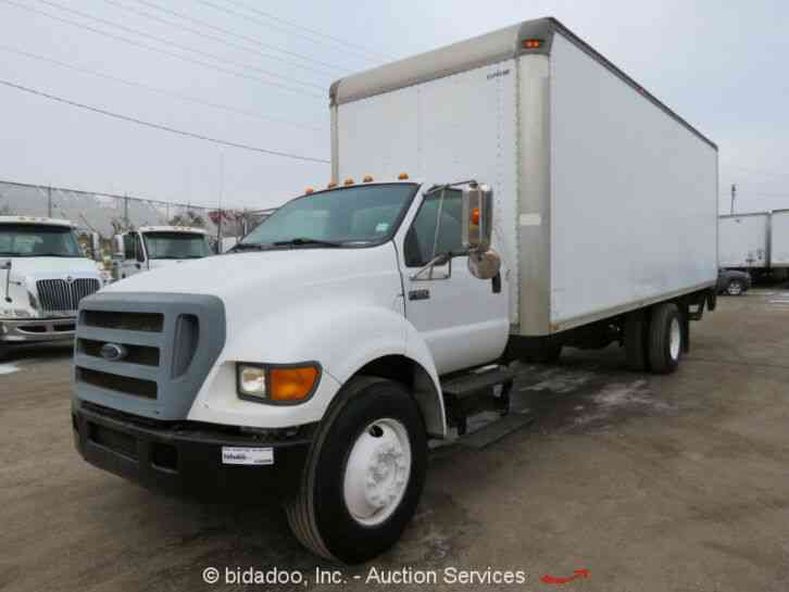 Ford F650 XL Super Duty (2004)