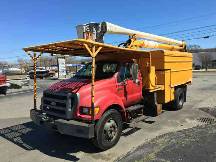 Boom Lift Truck : Ford f bucket boom trucks