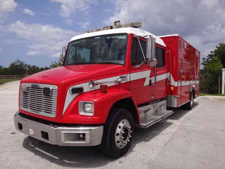 Freightliner fl60 crew cab ambulance 2004 emergency for Freightliner mercedes benz