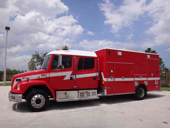 Mercedes Benz Pompano >> Freightliner FL60 Crew Cab Ambulance (2004) : Emergency & Fire Trucks