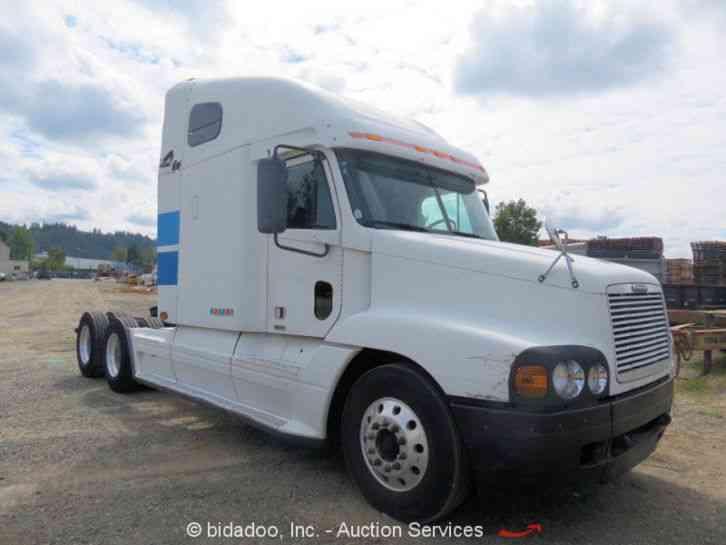 Freightliner Tractor Weight : Freightliner st sleeper semi trucks