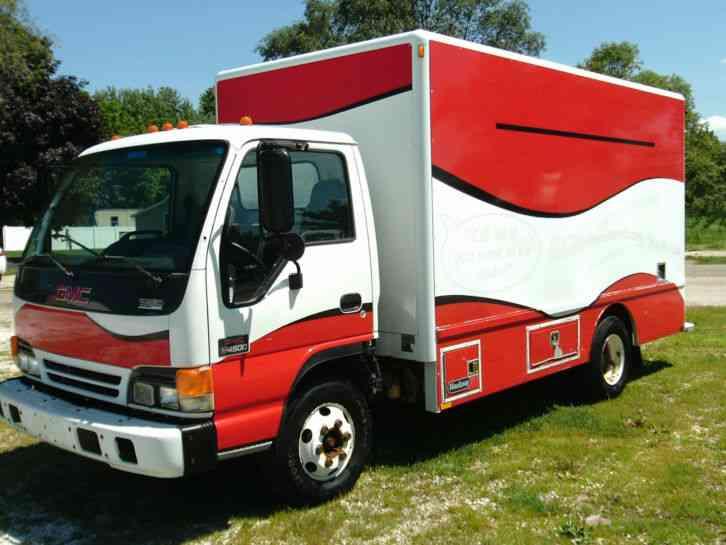 gmc w4500 2004 van box trucks rh jingletruck com 2003 GMC W4500 2004 GMC W4500 Sale