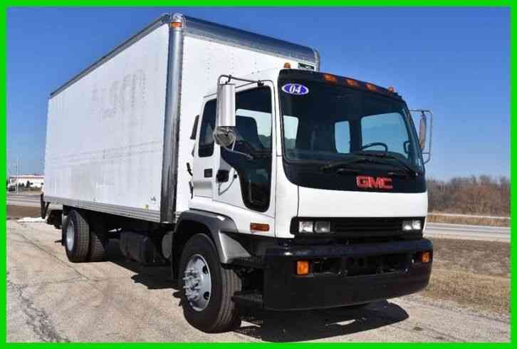 GMC T7500 24ft Box Truck (2004)