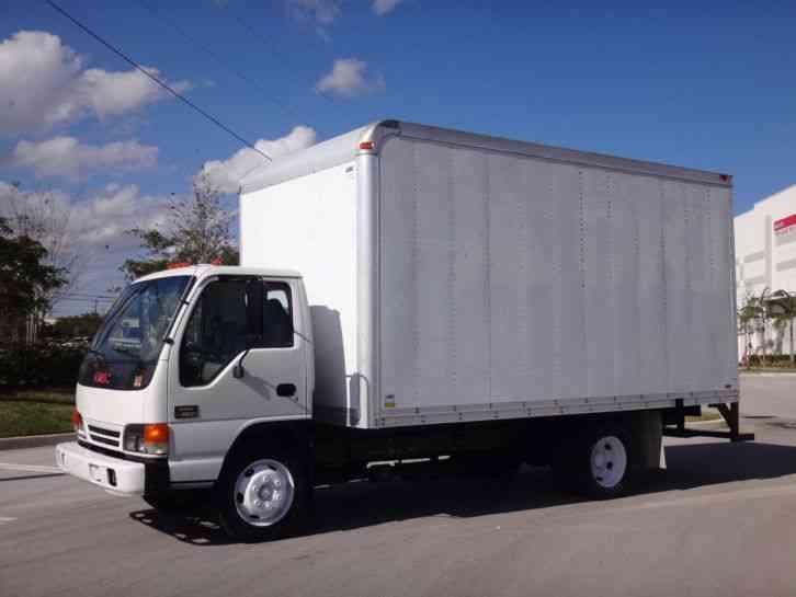 Gmc W4500 16ft Box Truck  2004    Van    Box Trucks