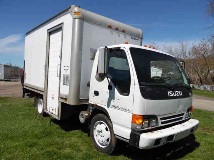 isuzu npr turbo diesel delivery step van box truck 2004. Black Bedroom Furniture Sets. Home Design Ideas