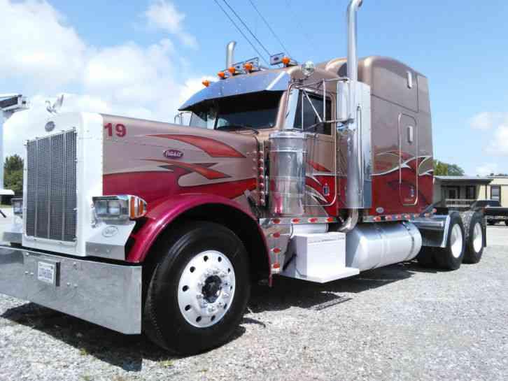 International prostar 2011 sleeper semi trucks
