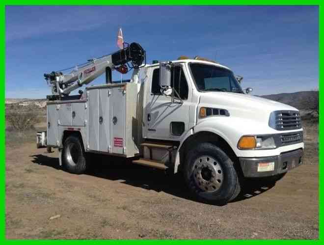 Used Service Trucks For Sale >> Sterling Mechanic Truck 2004 Utility Service Trucks