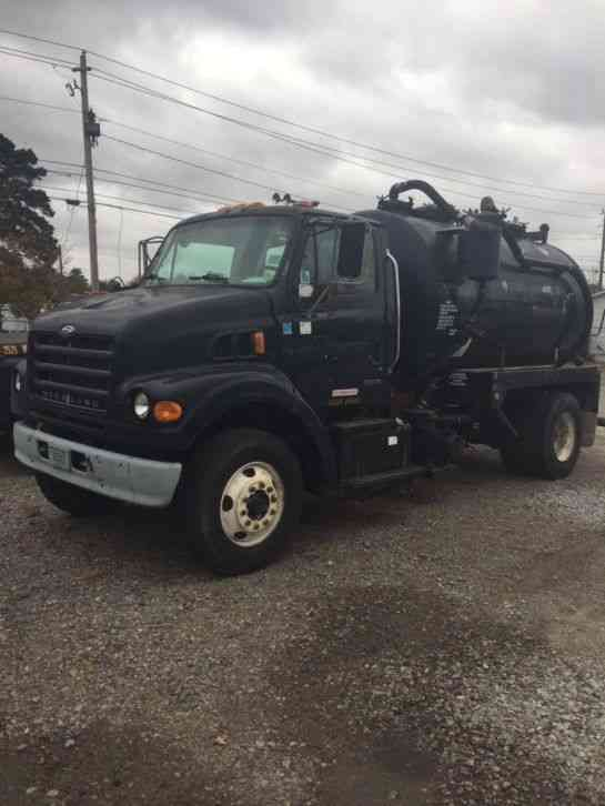 Sterling Pump Truck on 2002 sterling garbage truck
