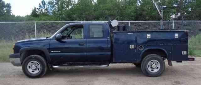 chevrolet silverado 2500hd 2005 utility service trucks. Black Bedroom Furniture Sets. Home Design Ideas