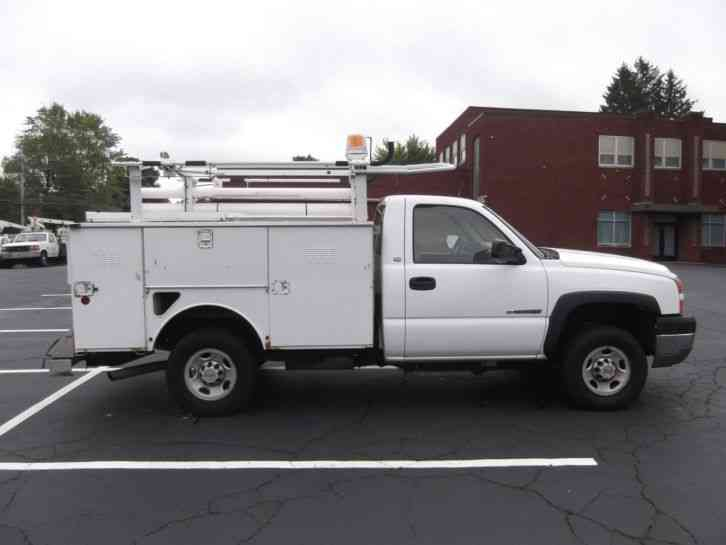 Chevrolet Silverado 2500 HD (2008) : Utility / Service Trucks