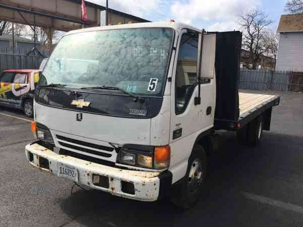 Chevy W Ft Flatbed W Isuzu Engine Only K Miles One Owner