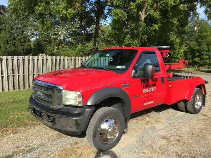 Ford f550 wrecker two truck 2005 wreckers