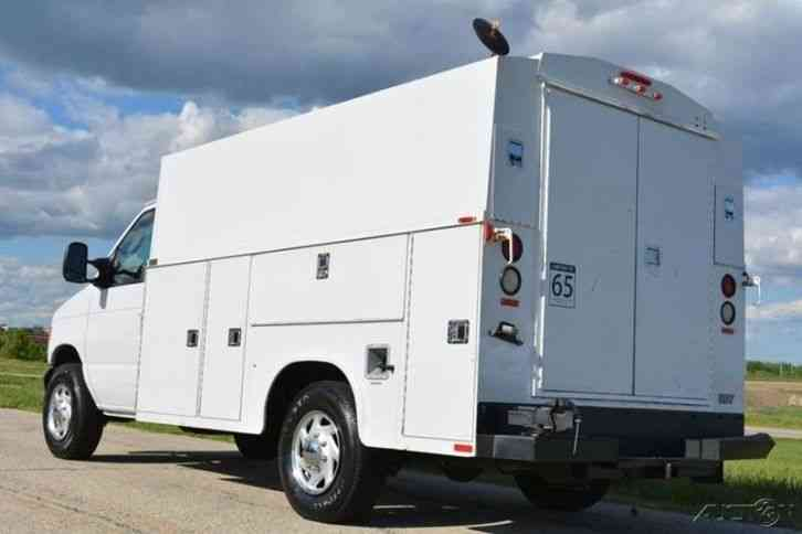ford e 350 sd kuv service body 2005 utility service trucks. Black Bedroom Furniture Sets. Home Design Ideas