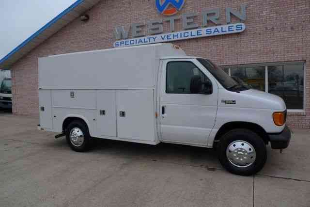 ford service body van 2005 utility service trucks. Black Bedroom Furniture Sets. Home Design Ideas