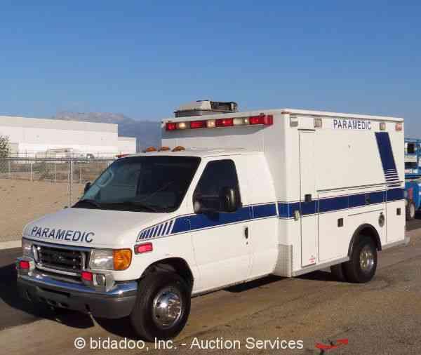 Ford E450  2005    Emergency  U0026 Fire Trucks
