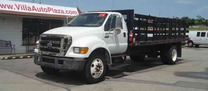 Ford F650 20ft Stake Bed only 46k miles (2005)