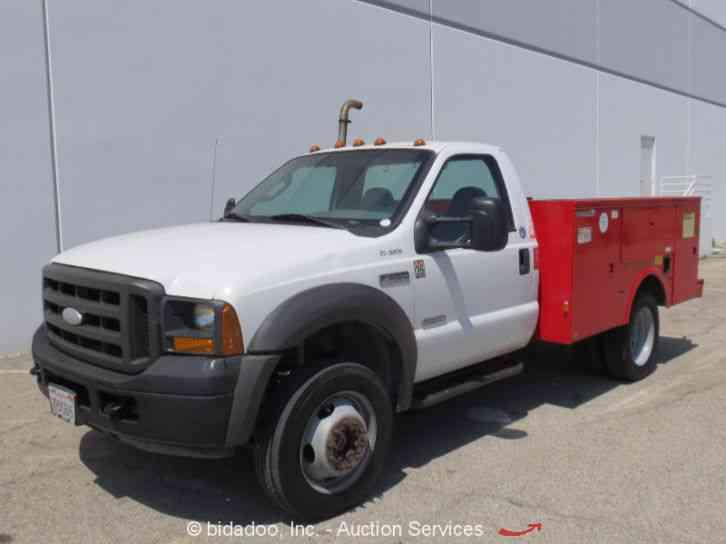 Ford F450 2005 Utility Service Trucks