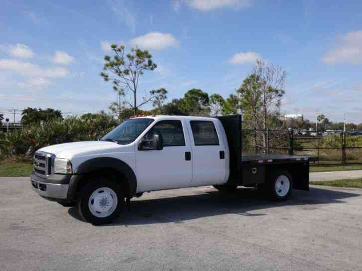 Ford F450 Crew Cab Super Duty Flatbed Truck (2005)